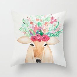 Beautiful Beast Throw Pillow