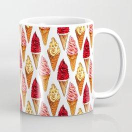 Ice Cream Pattern - Soft Serve Coffee Mug