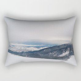 view from the top Rectangular Pillow