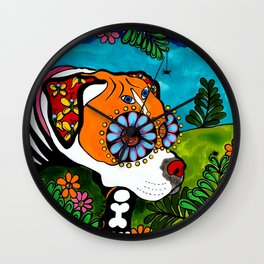 Presa the Boxer Wall Clock