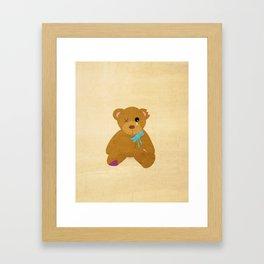 Abandoned Toys   Teddy Framed Art Print
