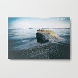 Calm Lake Metal Print