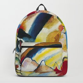 Wassily Kandinsky - Landscape with Red Spots Backpack