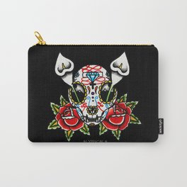 Cat Sugar Skull Carry-All Pouch