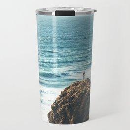 Malibu Coast / California Beach Travel Mug