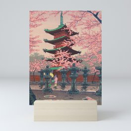 Eight Views of Tokyo - Toshogu Shrine Kasamatsu Shiro Japanese Woodblock Painting Asian Beautiful Mini Art Print