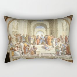 Raphael - The School of Athens Rectangular Pillow