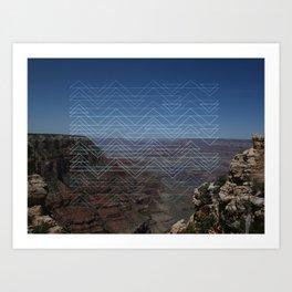 Grand view Art Print