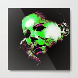 The Boogeyman Cometh Metal Print