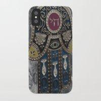 jewish iPhone & iPod Cases featuring Jewish Hamsa by Debra Slonim Art & Design