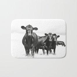 Cattle Country Photograph Bath Mat