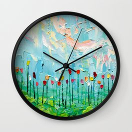 Stories From A Field Act LXXXI Wall Clock