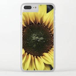 Sunflower dream Clear iPhone Case