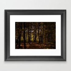 Tree Party Framed Art Print