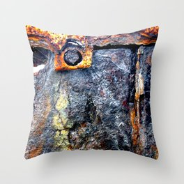 meEtIng wiTh IrOn no24 Throw Pillow
