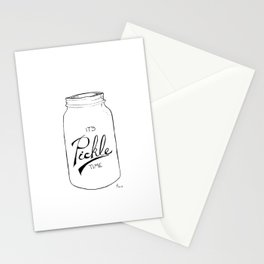 Pickle time Stationery Cards