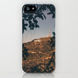 Hollywood Sign (LA) iPhone Case