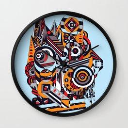 EL BARTO ~ BLUE Wall Clock