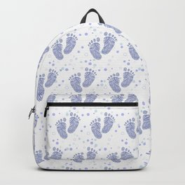 Baby feet background 7 Backpack