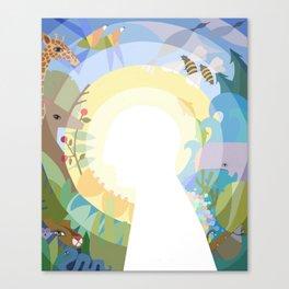 Symbiose Canvas Print