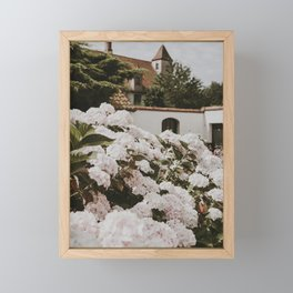 Bruges Flowers | Fine Art Travel Photography Framed Mini Art Print
