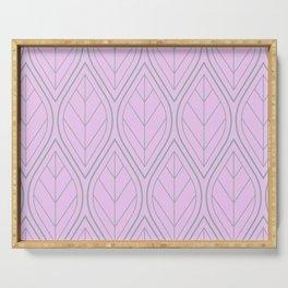 Vintage Art déco pattern Serving Tray