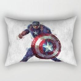 CaptainAmerica Hero Rectangular Pillow