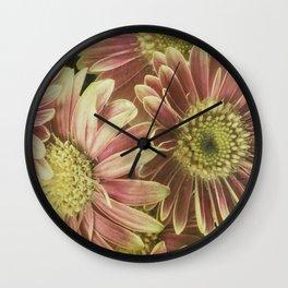 little gerberas Wall Clock