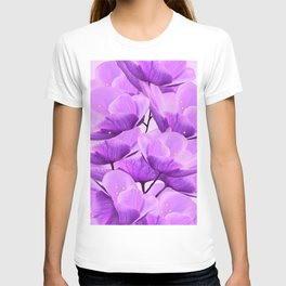 Violet Anemones Spring Atmosphere #decor #society6 #buyart T-shirt