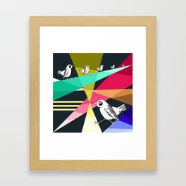 feeling like a bird stuck on the ground Framed Art Print