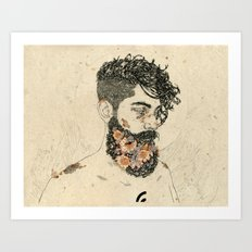 St Lazarus  Art Print
