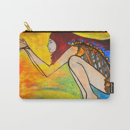 HUNGER  #Society6  #decor  #buyart Carry-All Pouch