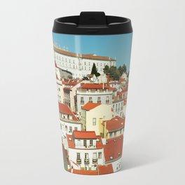 Lisbon view, Portugal Analog 6x6 Kodal Ektar 100 (RR 166) Travel Mug
