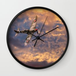 Supermarine Spitfire Wall Clock