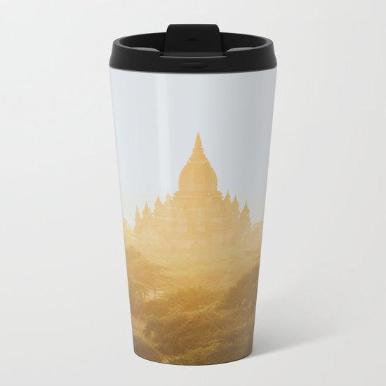 Bagan Temples II Metal Travel Mug