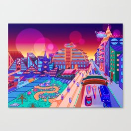 Dreamland City Canvas Print