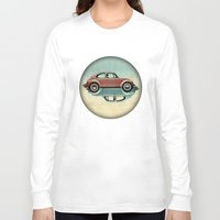 ying yang Long Sleeve T-shirts featuring vw  ying and yang by Vin Zzep