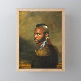 Mr. T - replaceface Framed Mini Art Print