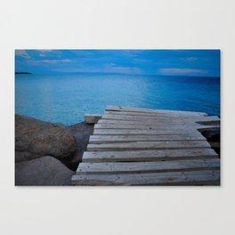 The Aegean Canvas Print