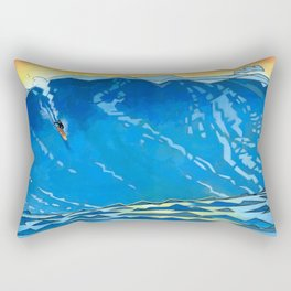 Big Wave Rectangular Pillow