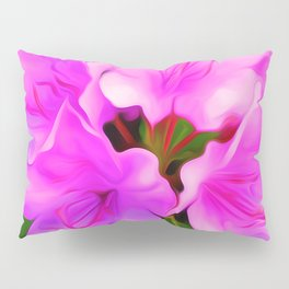 Painted Rhododendron - Pink Pillow Sham