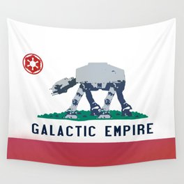 California Strikes Back Wall Tapestry