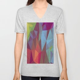 Vertices 9  Unisex V-Neck