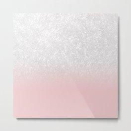 Glitter III Metal Print