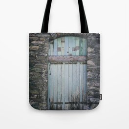 Old Blue Door II Tote Bag