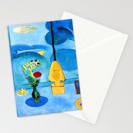 Henri Matisse Blue Window Stationery Cards