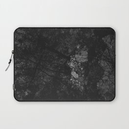 Luxury Black Marble Laptop Sleeve