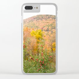 Autumn Upstate Clear iPhone Case