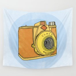 So Analog - Agfa Clack Retro Vintage Camera Wall Tapestry