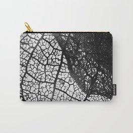 Negative Leaf Carry-All Pouch
